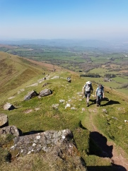 The only way is up!! - Black Mountains 2017
