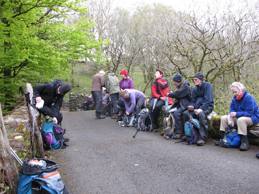 Lunchtime - Rhinogs Trip 2013