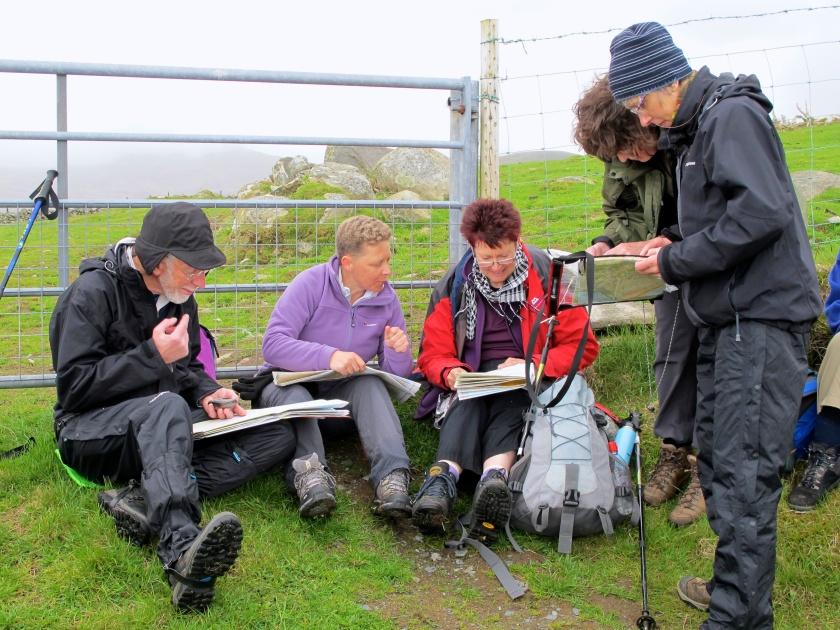 Map Reading Time - Rhinogs Trip 2013