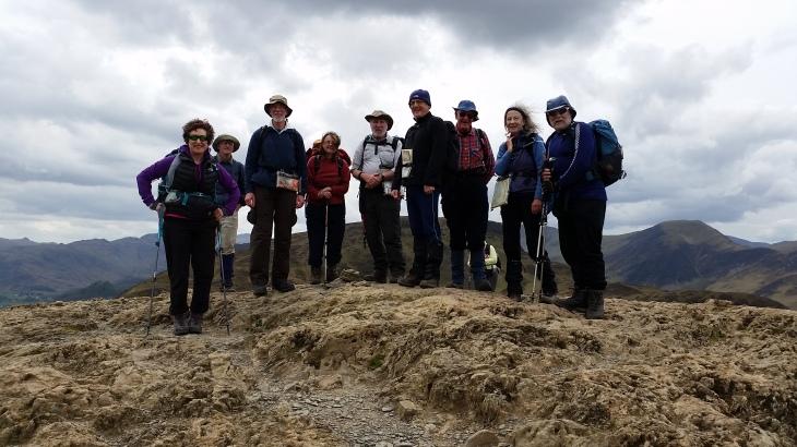 Top of Catbells - Lakes Trip 2015