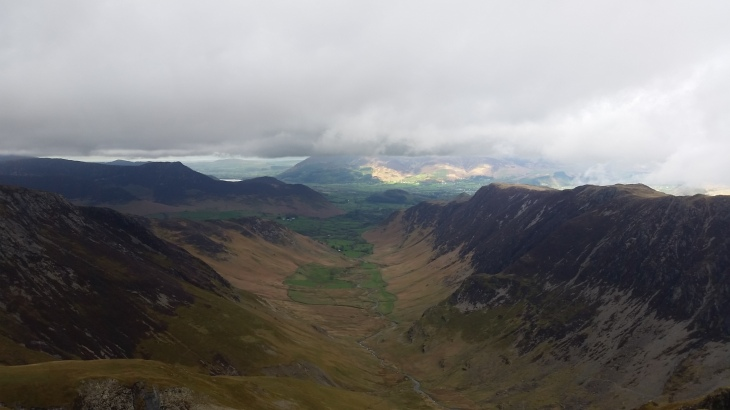 View from Dale Head - Lakes 2015