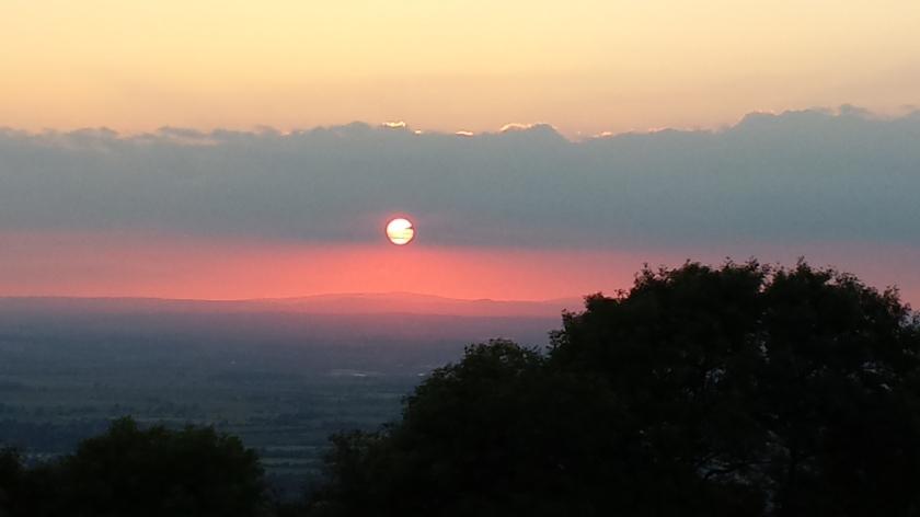 Sunset  - Solstice Walk 2014