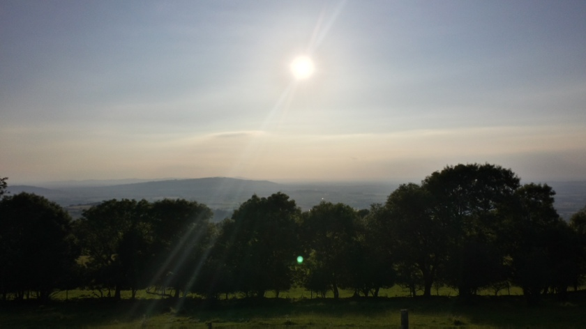 View from Broadway Tower - Solstice Walk 014