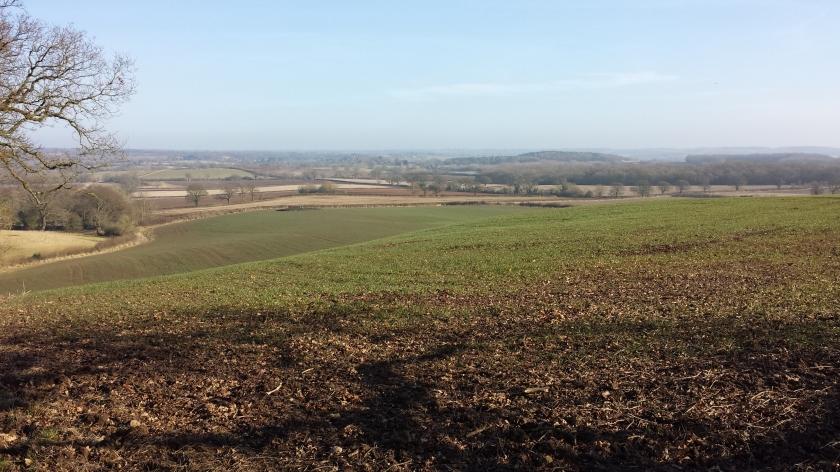 View over Warwickshire